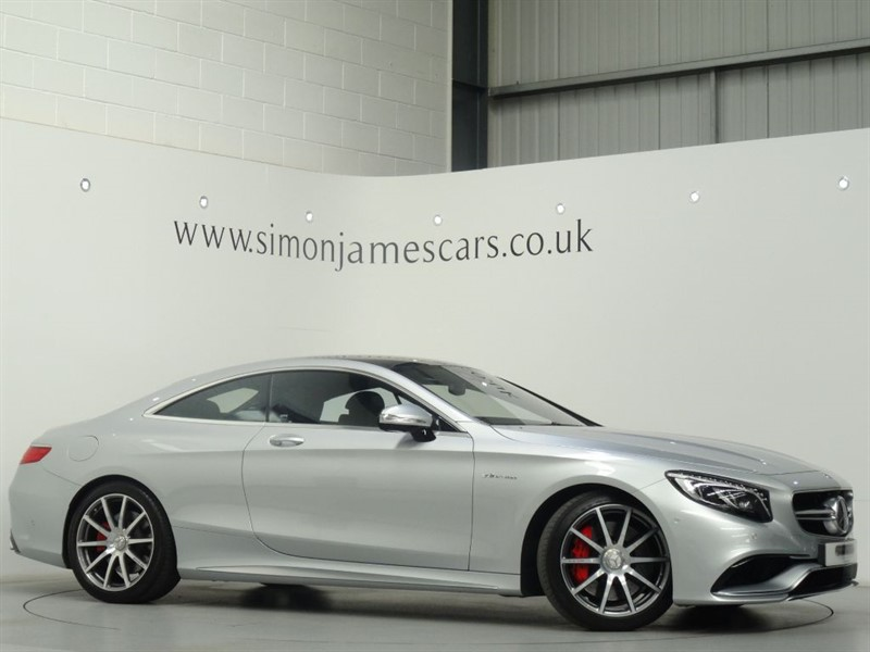 used Mercedes S63 AMG Coupe' in derbyshire