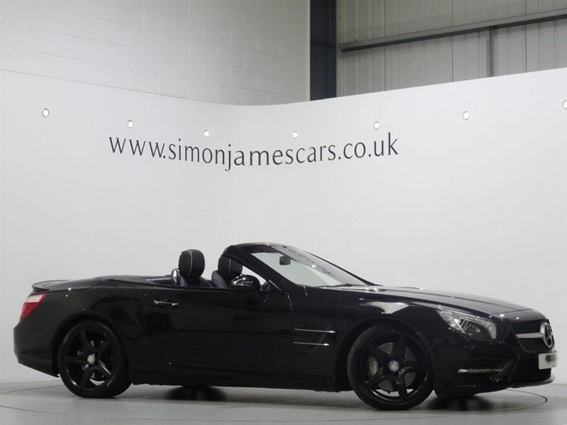 used Mercedes SL500 AMG SPORT in derbyshire