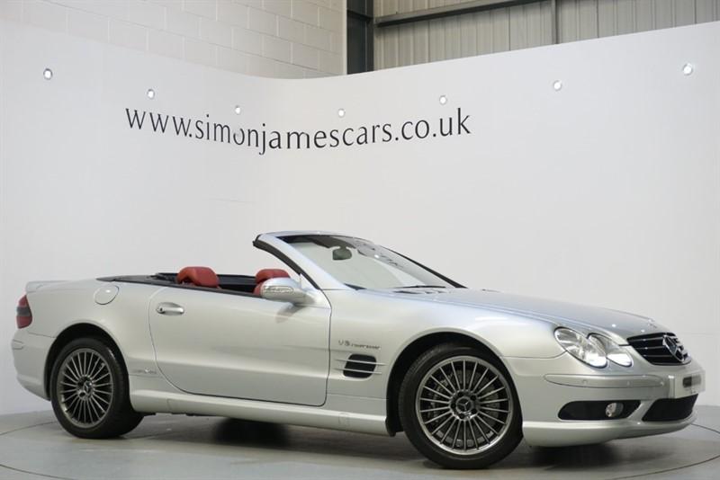 used Mercedes SL55 AMG KOMPRESSOR in derbyshire