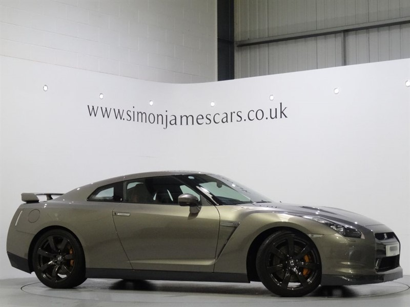 used Nissan GT-R BLACK EDITION in derbyshire