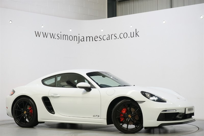 used Porsche 718 Cayman GTS PDK in derbyshire