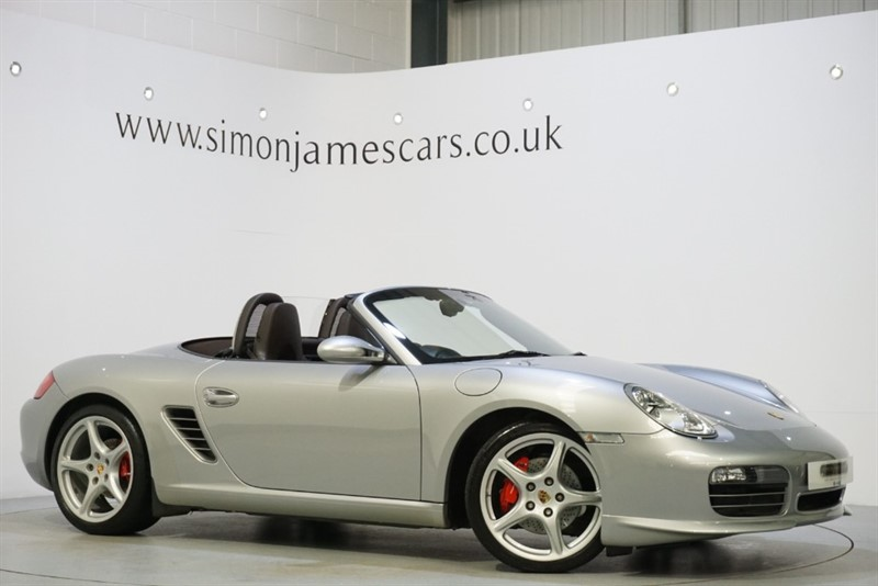 used Porsche Boxster 3.4 S TIP S in derbyshire
