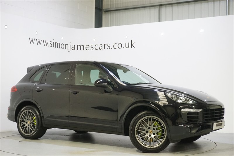 used Porsche Cayenne S E-HYBRID PLATINUM EDITION in derbyshire