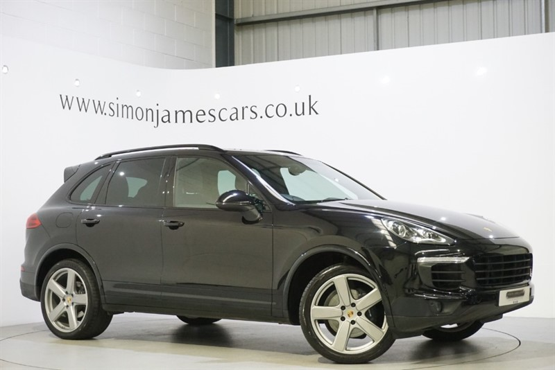 used Porsche Cayenne PLATINUM EDITION in derbyshire