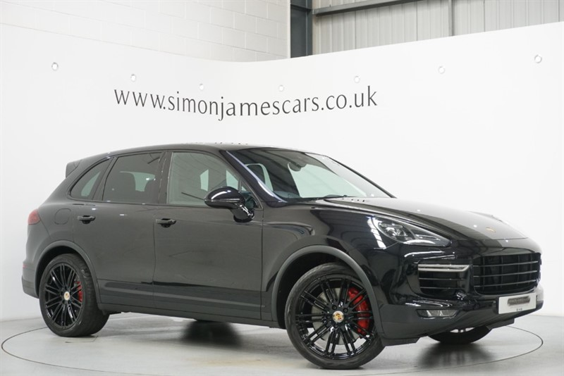 used Porsche Cayenne V8 TURBO in derbyshire
