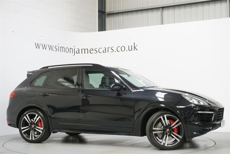 used Porsche Cayenne V8 TURBO TIP S in derbyshire