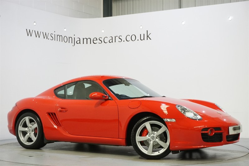 used Porsche Cayman S in derbyshire