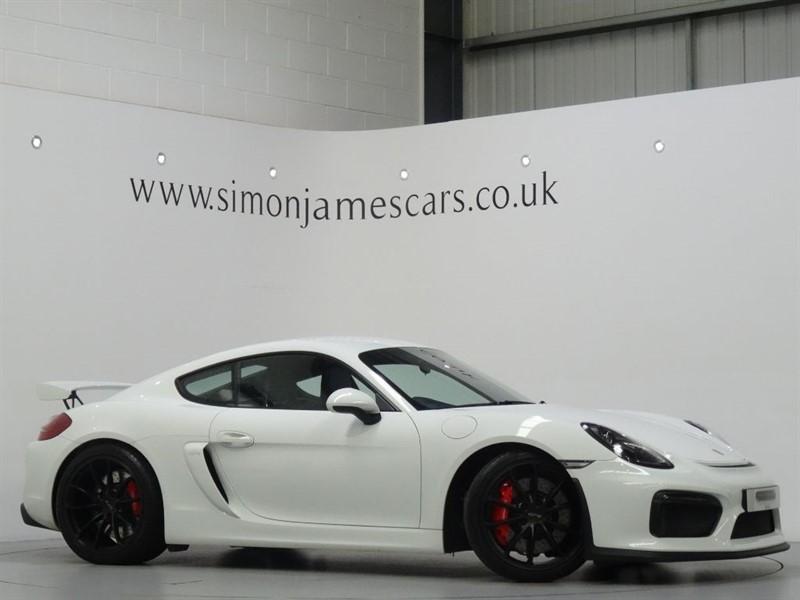 used Porsche Cayman GT4 in derbyshire