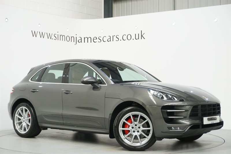used Porsche Macan TURBO PDK in derbyshire