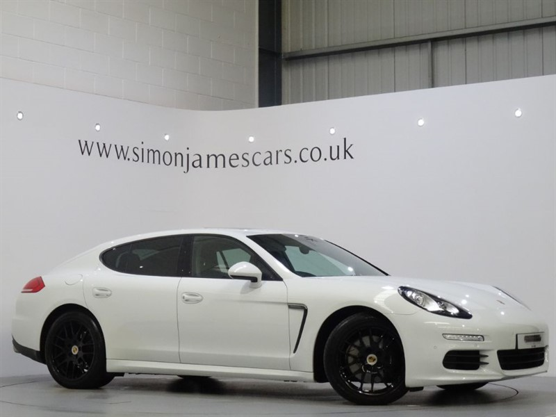 used Porsche Panamera D V6 TIPTRONIC in derbyshire