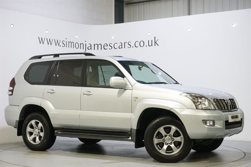 used Toyota Land Cruiser INVINCIBLE D-4D in derbyshire