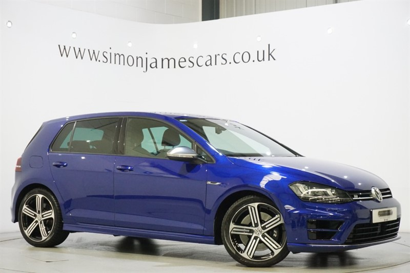 used VW Golf R 300 PS in derbyshire