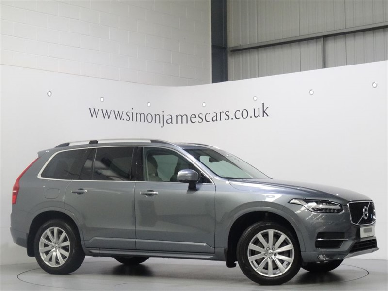 used Volvo XC90 D5 MOMENTUM AWD in derbyshire