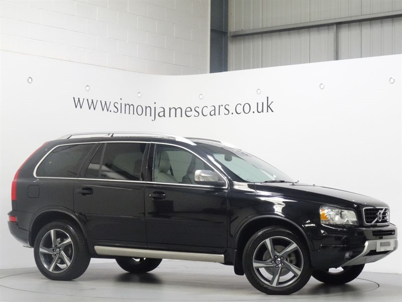 used Volvo XC90 D5 R-DESIGN in derbyshire