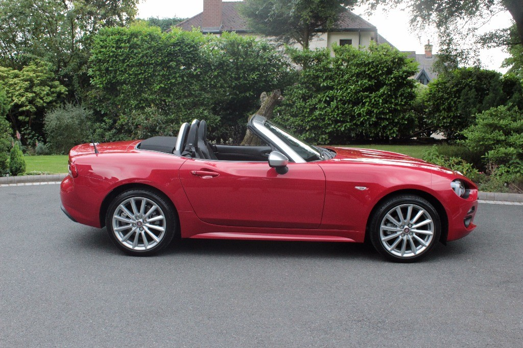 used Fiat  124 SPIDER MULTIAIR ANNIVERSARY EDITION in knutsford-cheshire