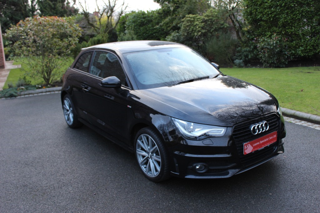 used Audi A1 TFSI S LINE STYLE EDITION in knutsford-cheshire