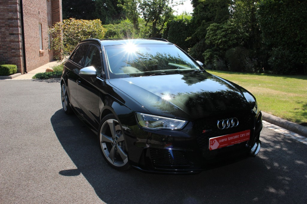 used Audi A3 RS3 SPORTBACK QUATTRO NAV in knutsford-cheshire