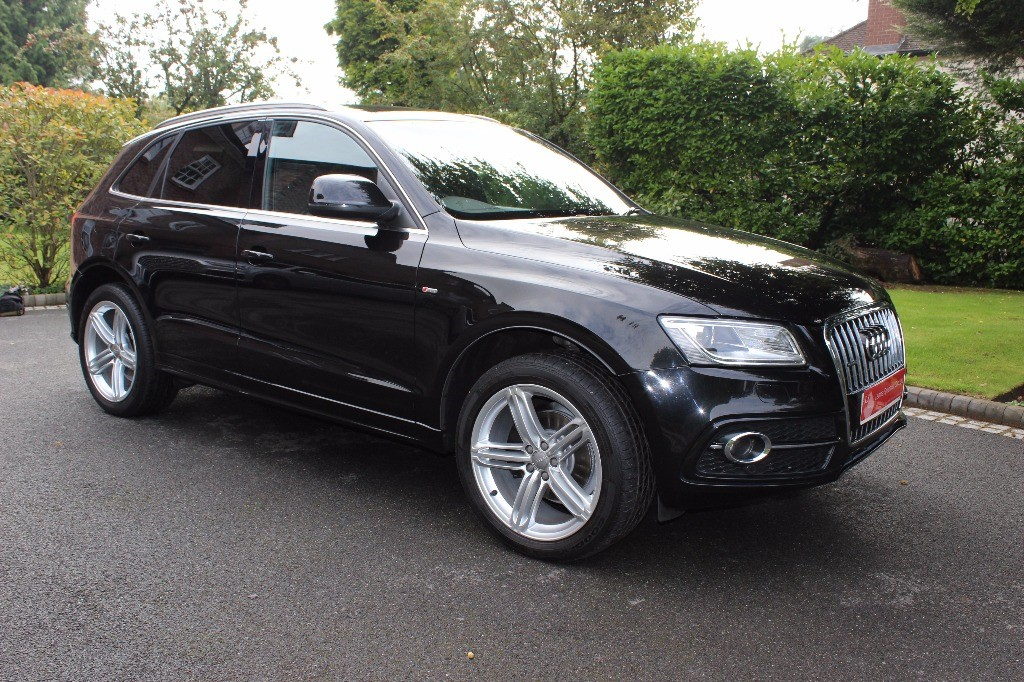 used Audi Q5 TDI QUATTRO S LINE PLUS in knutsford-cheshire