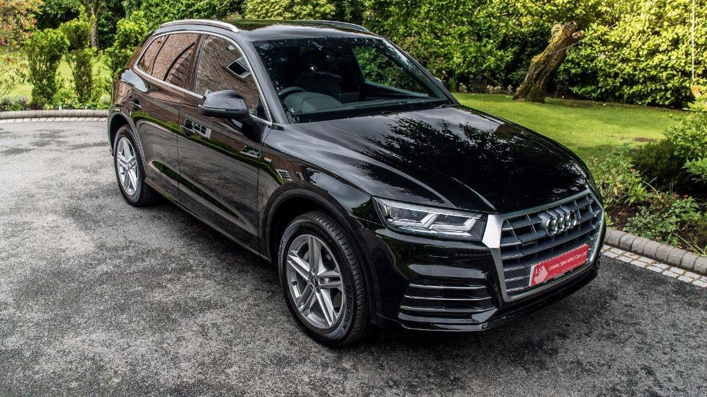 used Audi Q5 TDI QUATTRO S LINE in knutsford-cheshire