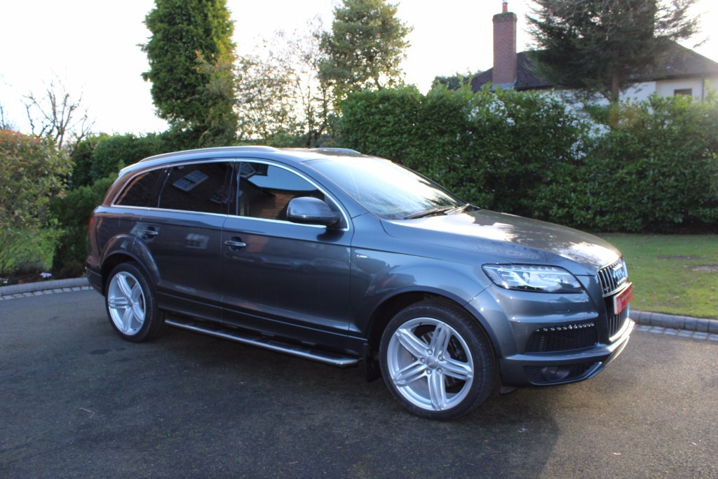 used Audi Q7 TDI QUATTRO S LINE PLUS in knutsford-cheshire