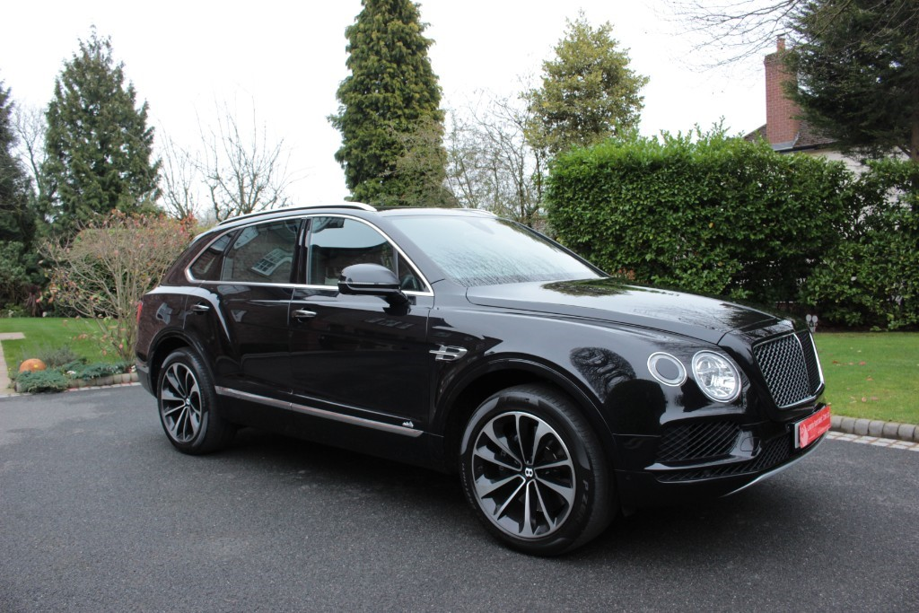 used Bentley Bentayga VENTURE EDITION LIMITED in knutsford-cheshire