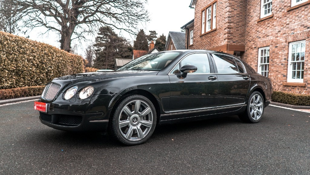 used Bentley Continental Flying Spur 5 SEATS in knutsford-cheshire