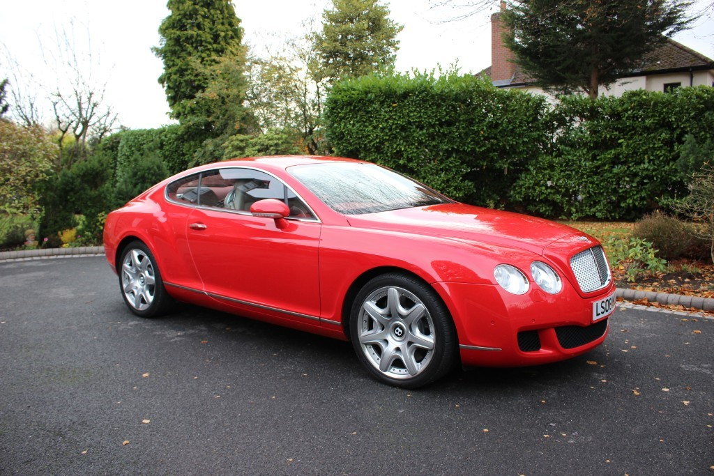 used Bentley Continental GT Mulliner in knutsford-cheshire