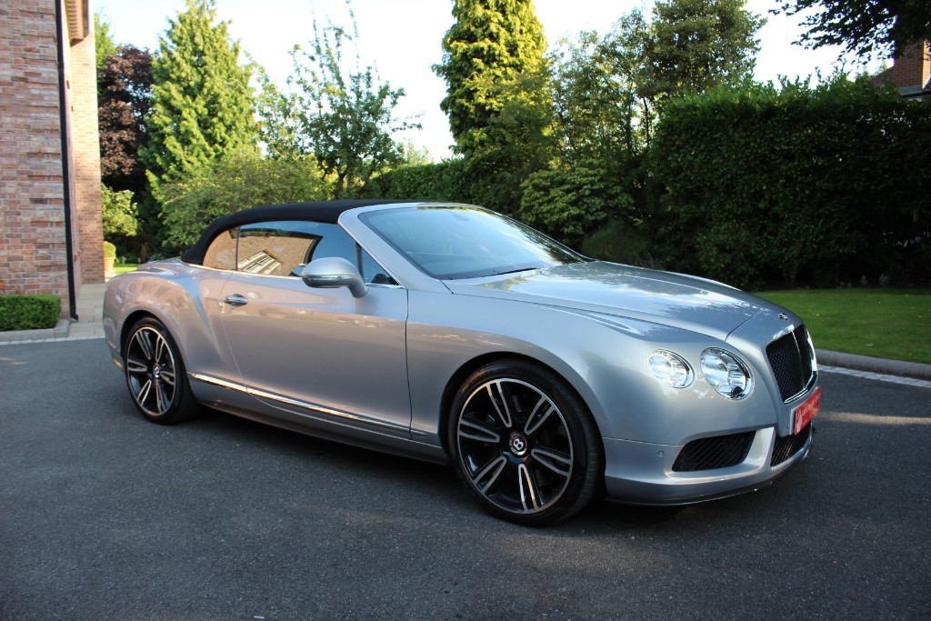 used Bentley Continental GTC V8 in knutsford-cheshire