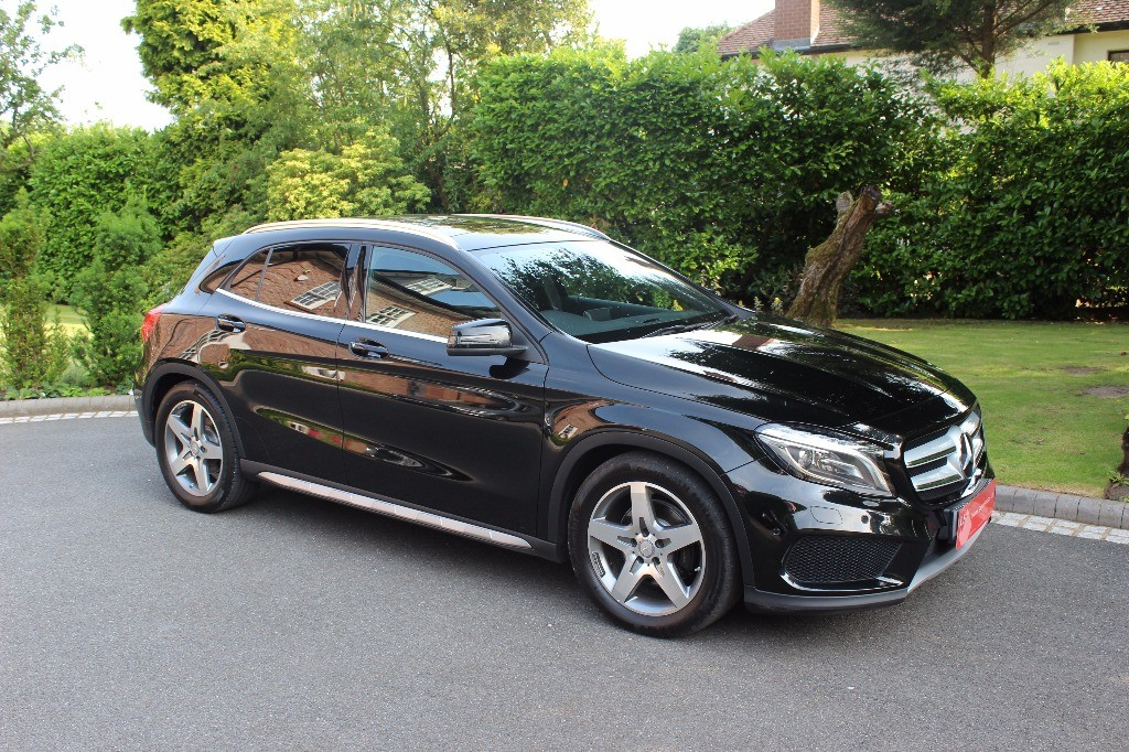 used Mercedes GLA220 CDI 4MATIC AMG LINE PREMIUM PLUS in knutsford-cheshire
