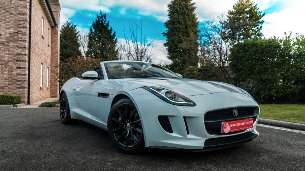 used Jaguar F-Type V6 in knutsford-cheshire