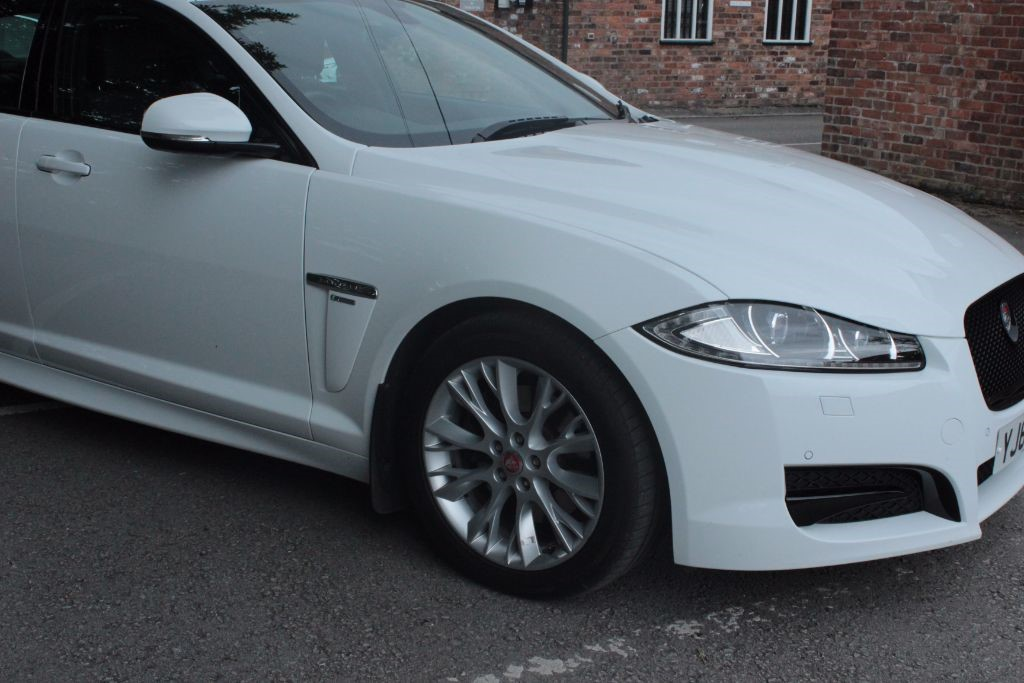 used Jaguar XF D R-SPORT in knutsford-cheshire