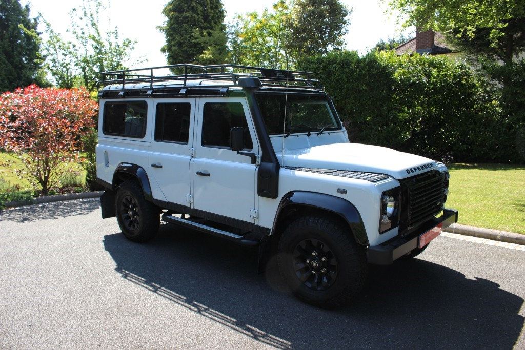 used Land Rover Defender Land Mark in knutsford-cheshire