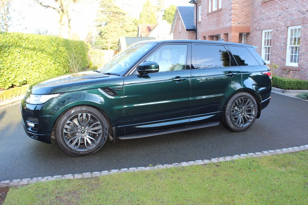 used Land Rover Range Rover SPORT SDV6 HSE SDV6 HSE in knutsford-cheshire