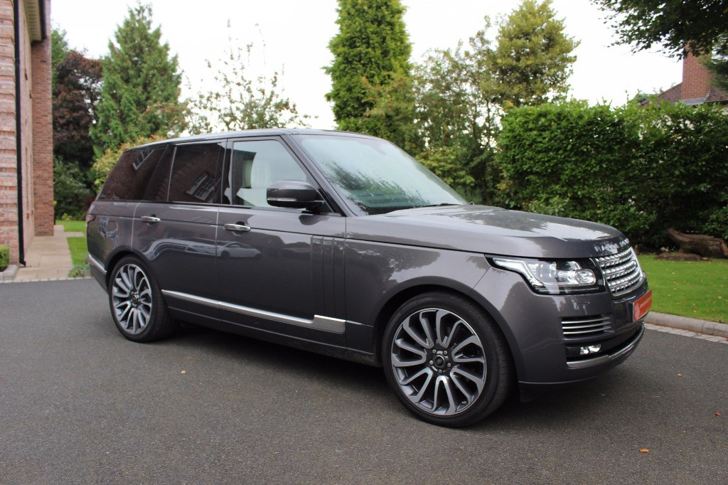 used Land Rover Range Rover TDV6 AUTOBIOGRAPHY in knutsford-cheshire