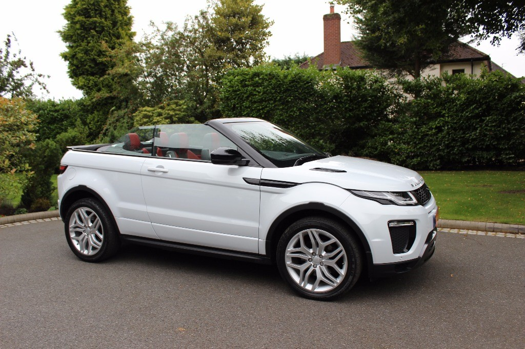 used Land Rover Range Rover Evoque TD4 HSE DYNAMIC in knutsford-cheshire
