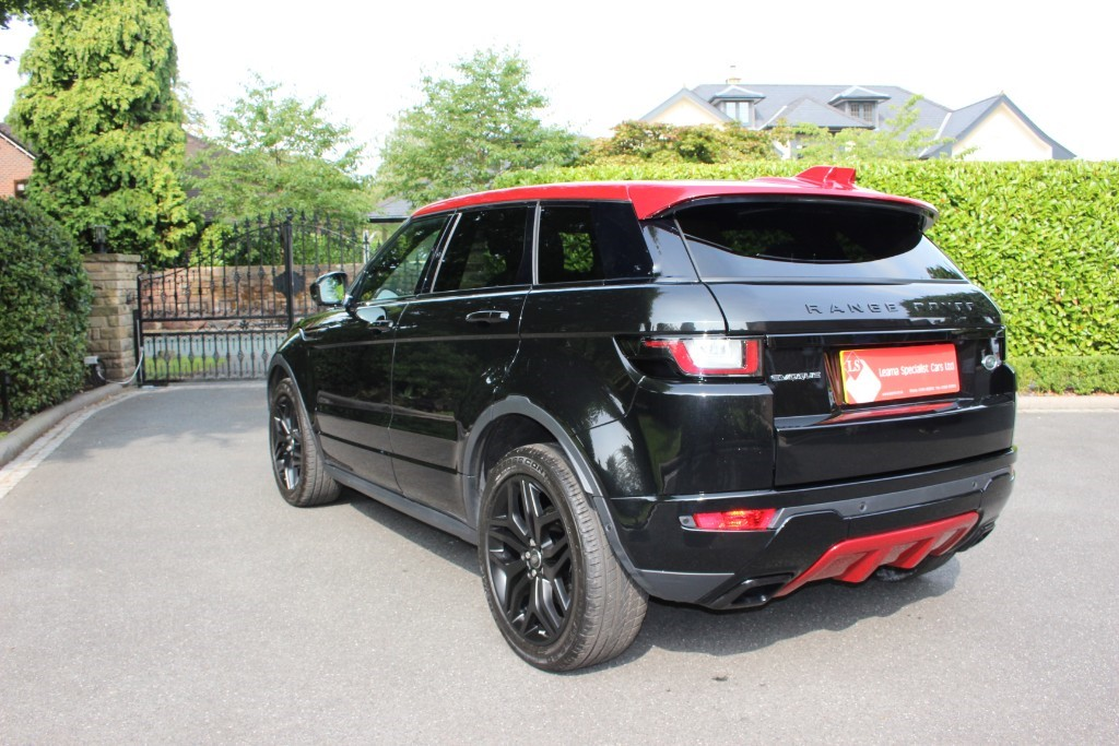 used Land Rover Range Rover Evoque TD4 EMBER SPECIAL EDITION in knutsford-cheshire