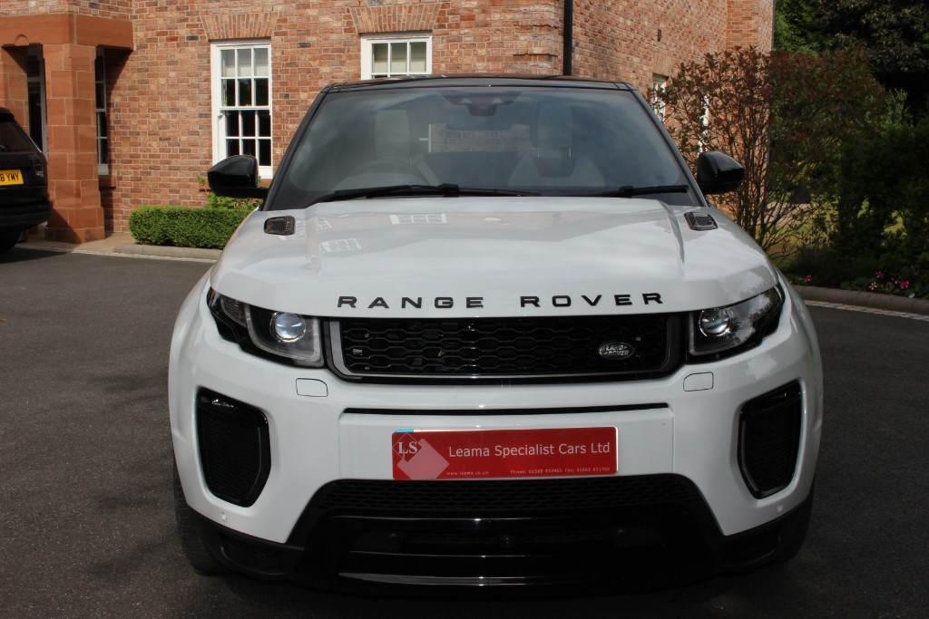used Land Rover Range Rover Evoque TD4 HSE DYNAMIC LUX in knutsford-cheshire