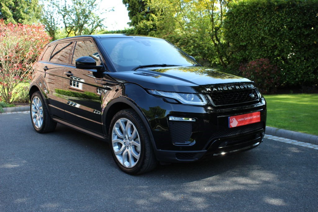 used Land Rover Range Rover Evoque HSE Dynamic TD4 in knutsford-cheshire