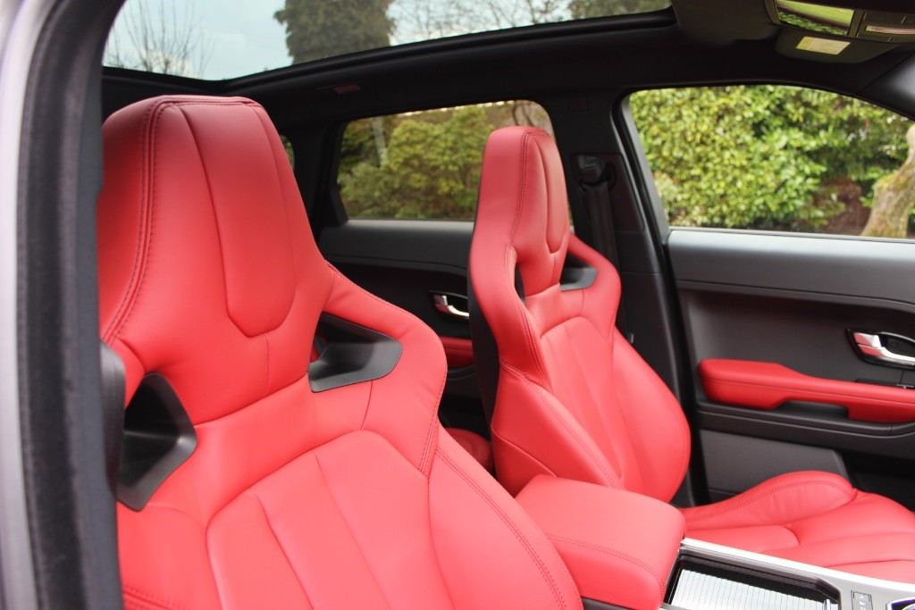 used Land Rover Range Rover Evoque 2.2 SD4 Dynamic Lux AWD 5dr in knutsford-cheshire