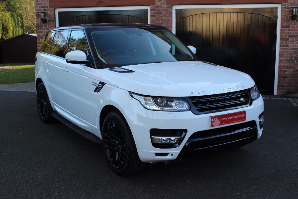 used Land Rover Range Rover Sport SDV6 HSE in knutsford-cheshire
