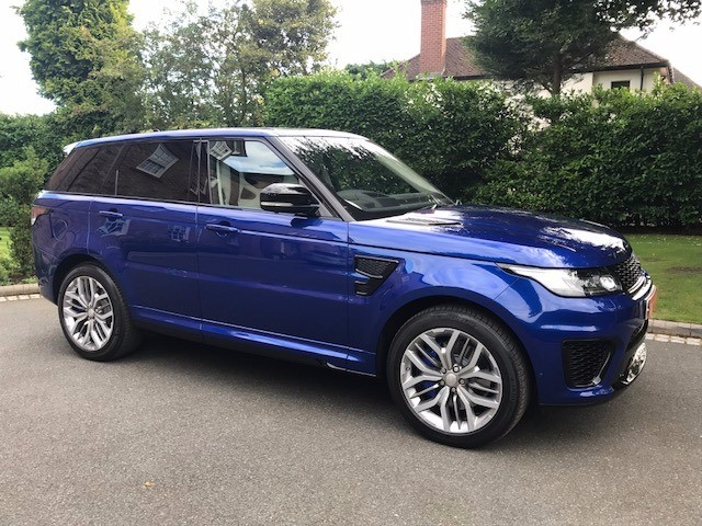used Land Rover Range Rover Sport SVR in knutsford-cheshire