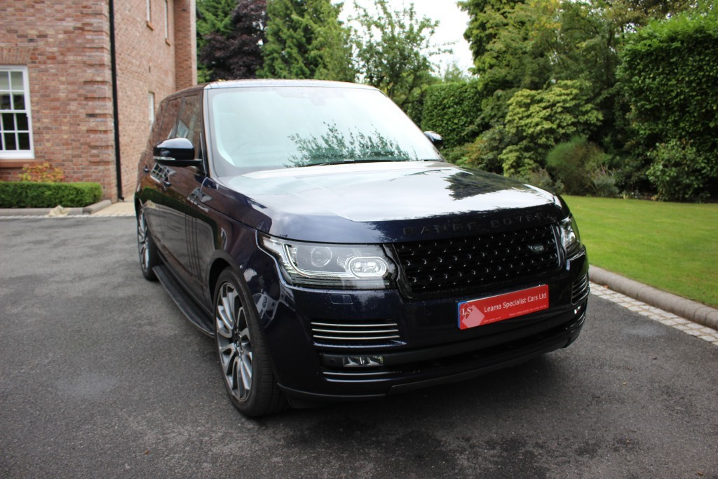 used Land Rover Range Rover Vogue in knutsford-cheshire