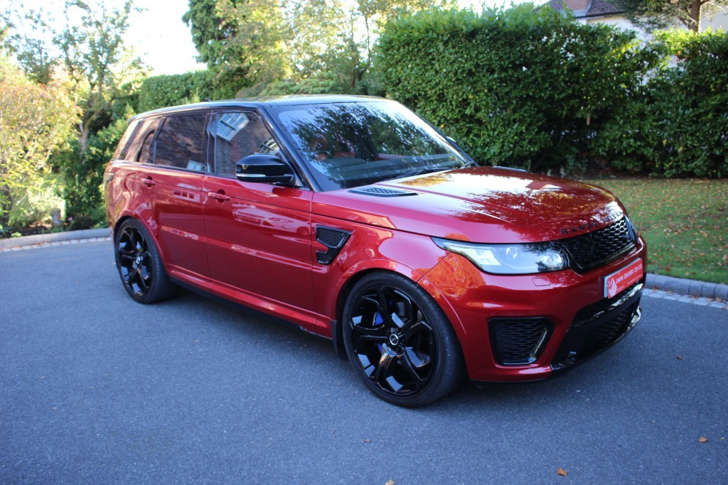 used Land Rover SVR Range Rover Sport 5.0 V8 SVR (s/s) in knutsford-cheshire