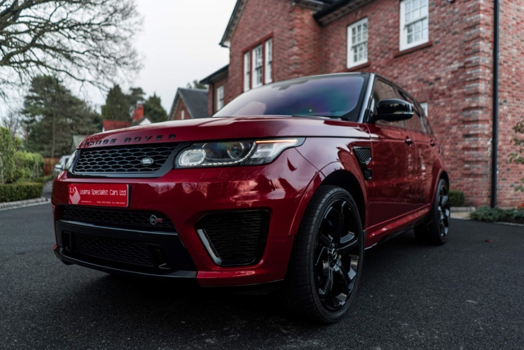Land Rover SVR for sale