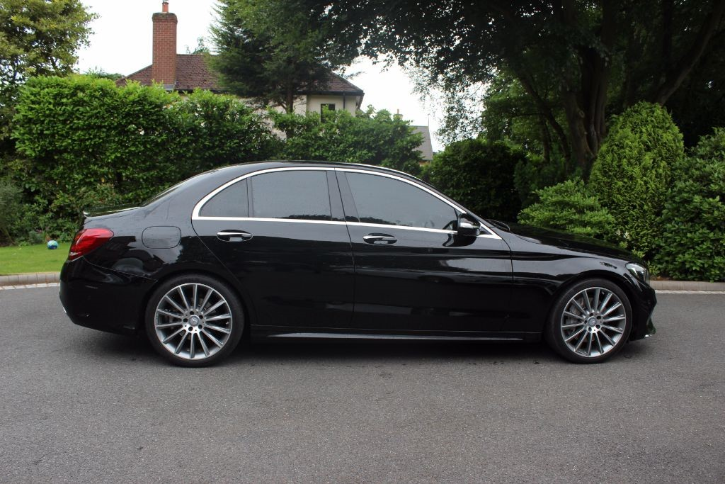 used Mercedes C250 BLUETEC AMG LINE PREMIUM PLUS in knutsford-cheshire