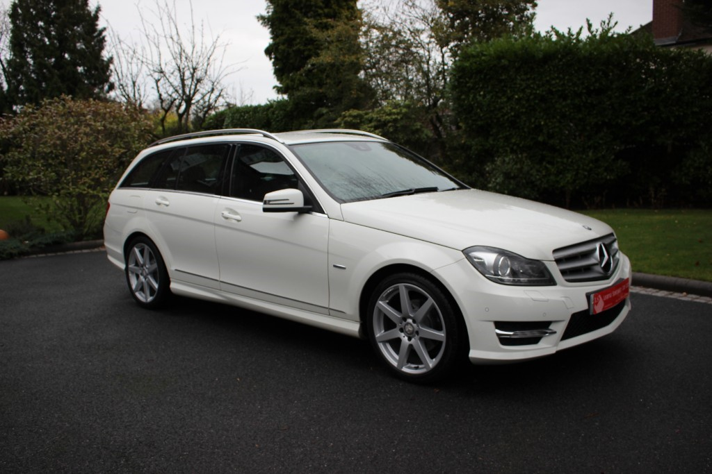used Mercedes C180 C180 Sport ED125 Blue EEF-CY A in knutsford-cheshire