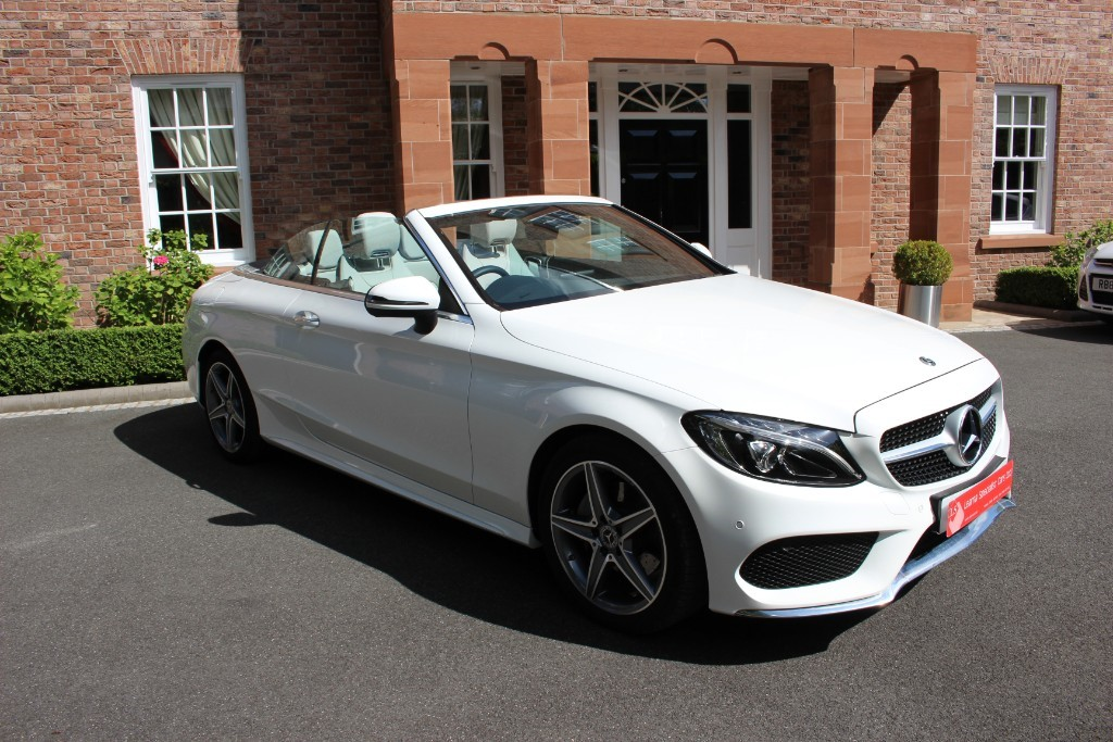 used Mercedes C200 AMG Line Auto in knutsford-cheshire