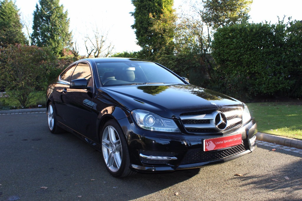 used Mercedes C220 CDI BLUEEFFICIENCY AMG SPORT in knutsford-cheshire
