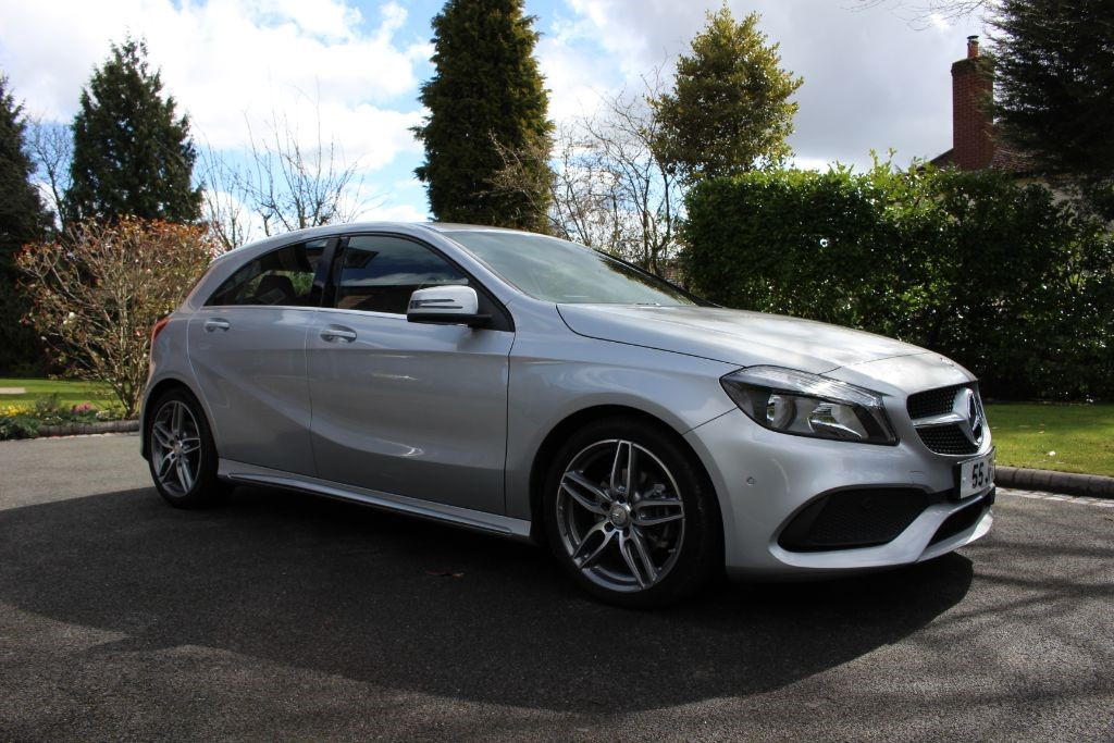 used Mercedes  A-CLASS A 200 D AMG LINE EXECUTIVE in knutsford-cheshire