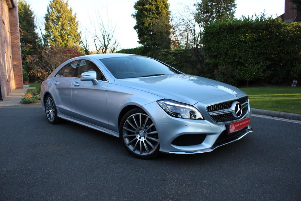 used Mercedes CLS350 CDI CLS350d AMG LINE PREMIUM in knutsford-cheshire